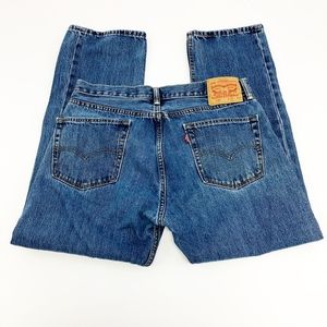 levi's | vintage 505 high waisted mom jeans sz 35